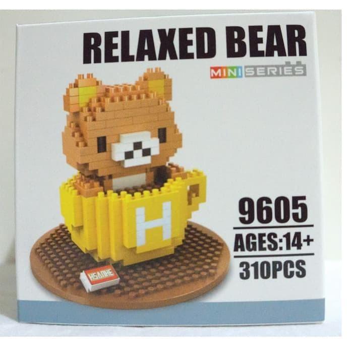 harga Lego nano block jumbo rillakuma teacup yellow - Tokopedia.com