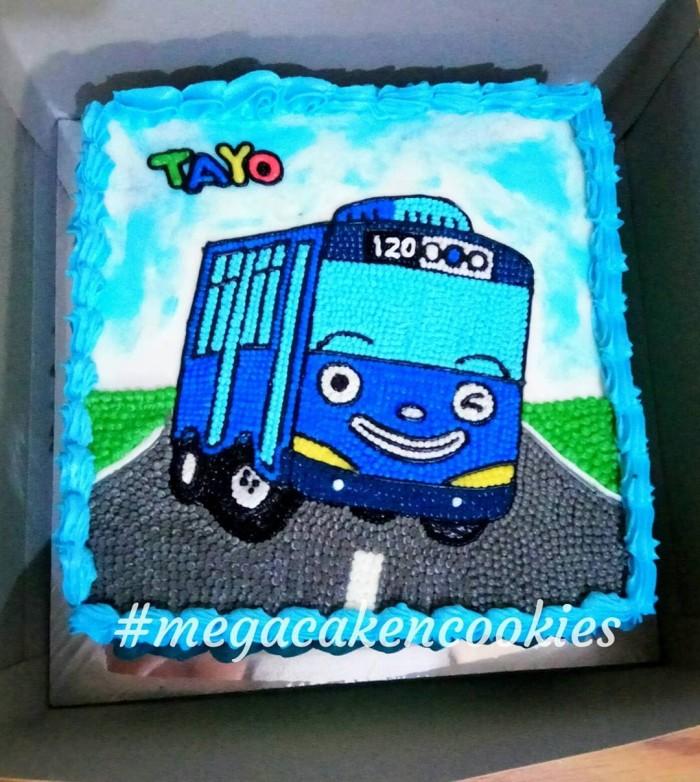Gambar Tayo Gambar Kue Ultah Karakter Tayo