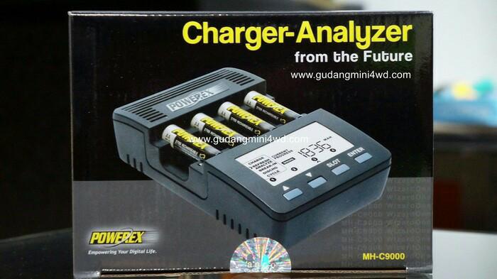 harga Powerex mhc - 9000 ( multifunction charger & analyzer ) Tokopedia.com