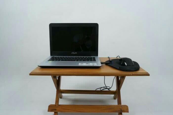 harga Rak belajar lipat kayu jati mini jujur barokah furniture jepara Tokopedia.com
