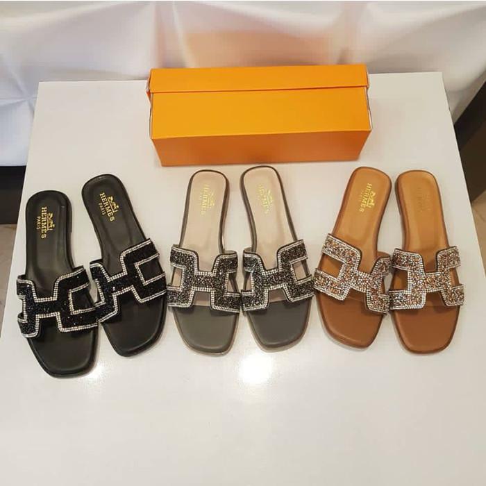 Sandal flat hermes  harga ... 8b635985d2