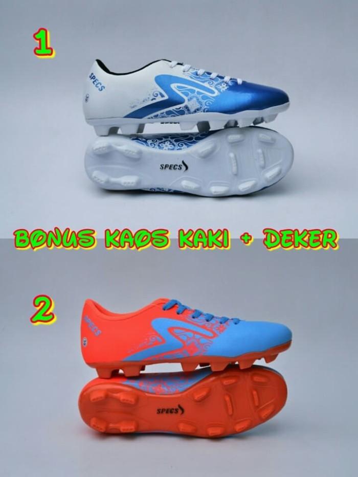 harga Sepatu bola specs batik murah bonus kaos kaki dan deker Tokopedia.com