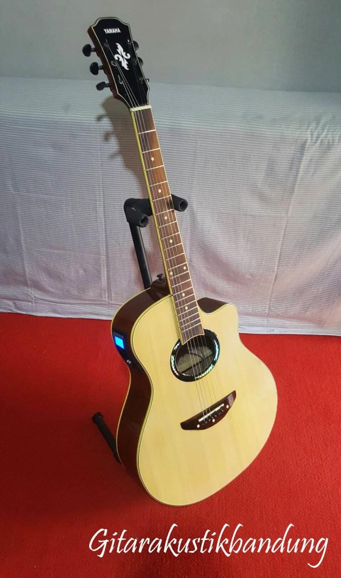 harga Gitar akustik murah elektrik yamaha natural ready gosend bandung Tokopedia.com