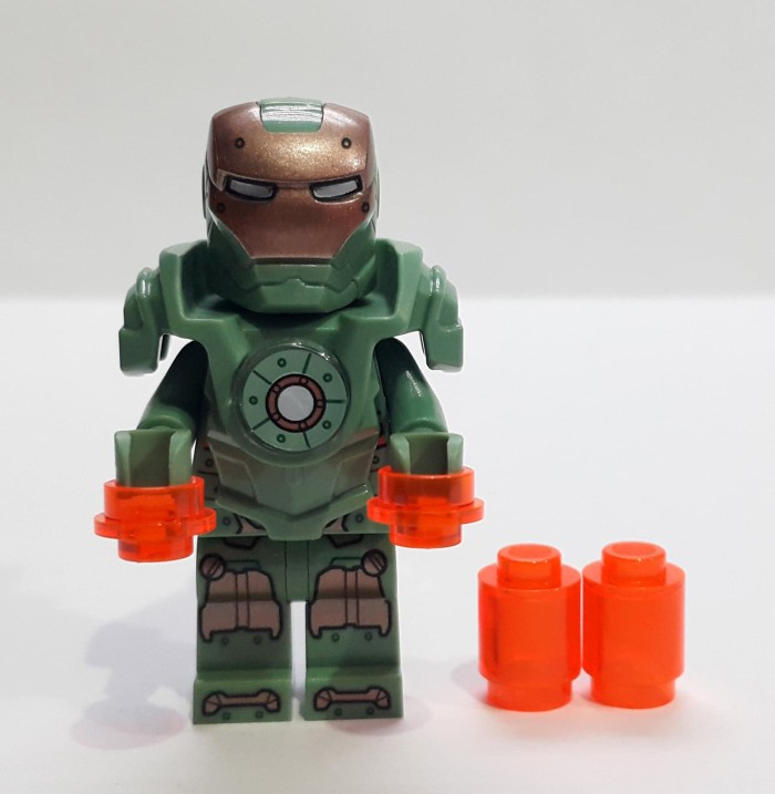 harga Lego minifigure super heroes scuba iron man ironman space mk 37 Tokopedia.com
