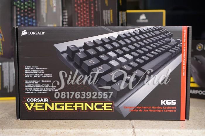 harga Corsair k65 vengeance mechanical gaming keyboard cherry mx red Tokopedia.com