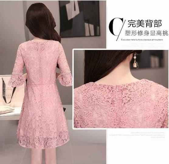 harga Dress wanita import baju pesta import brokat b90 p76 l81 cm - 815 Tokopedia.com