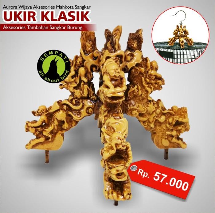 harga Mahkota cakram fiber sangkar burung murai batu aurora wijaya Tokopedia.com