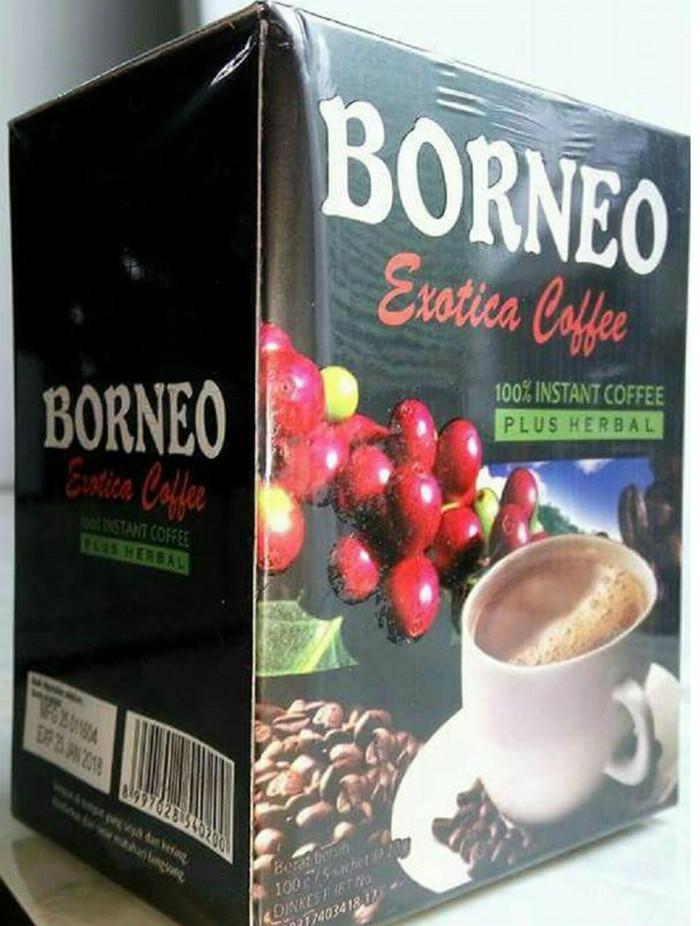 BORNEO Kopi Herbal untuk Pria Dewasa - 100 Gram