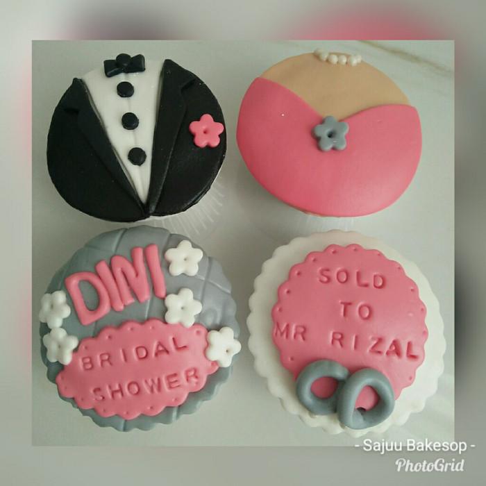 harga Cupcake lamaran bridal shower 4pc Tokopedia.com