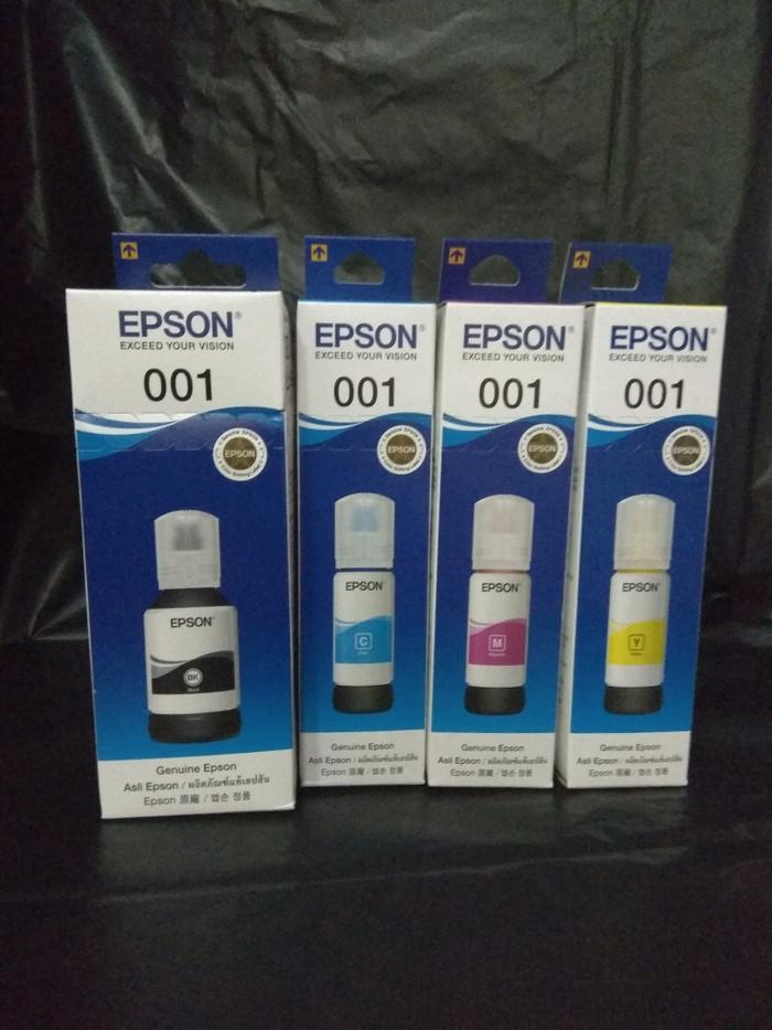 Jual Tinta Epson 001 / ink for Epson L4150 L4160 L6160 L6170 L6190 -  Jakarta Pusat - XRcom | Tokopedia