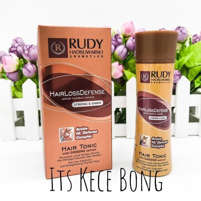 RUDY HADISUWARNO HAIR LOSS DEFENSE HAIR TONIC GINSENG 100ml RUDY HADIS 4c8dce6ef7