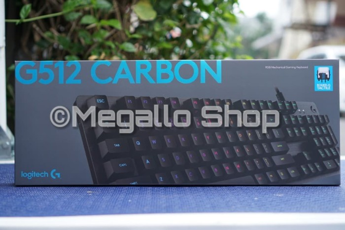 37ef181faa5 Jual LOGITECH G512 CARBON RGB MECHANICAL GAMING KEYBOARD Garansi ...