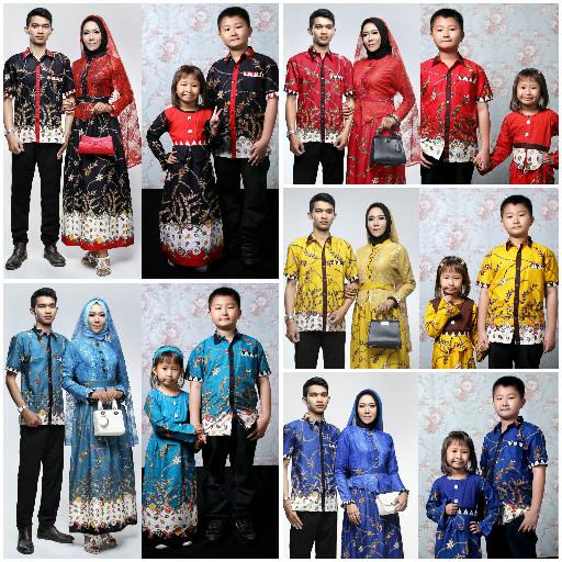 Jual Baju Batik Couple Keluarga Baju Batik Sarimbit Adelia Madura Kota Surakarta Amzie Collection Tokopedia