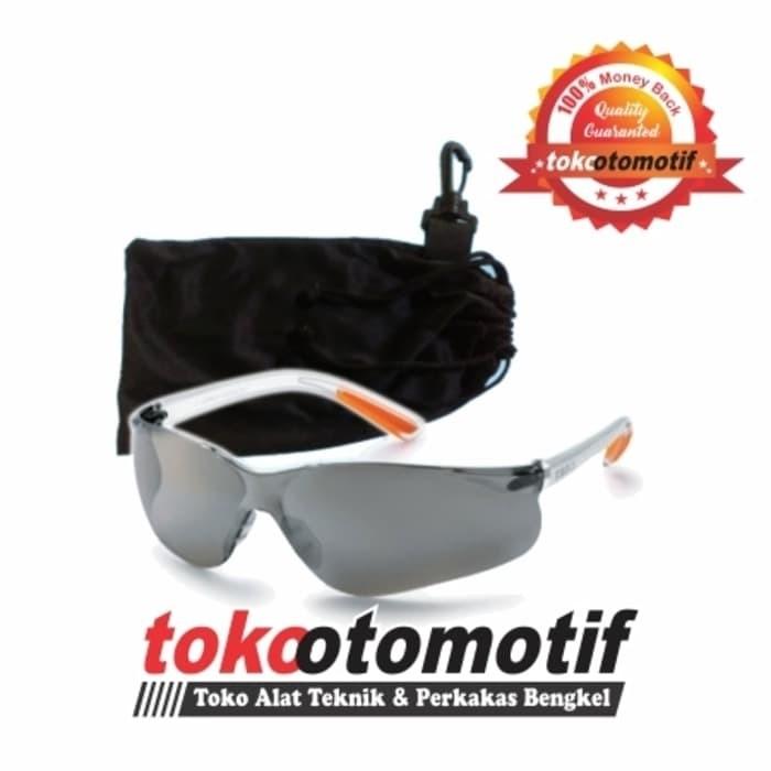 Kacamata Safety Clear Mirror Kings ( Top Quality Pelindung Mata