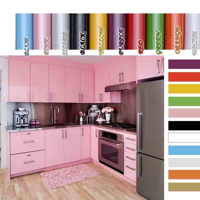 Jual Wallpaper Glossy Murah Sticker Kitchen Set Walpaper Full