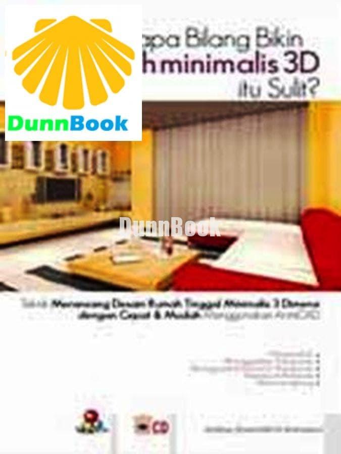 Desain Rumah Minimalis Dengan 3ds Max  jual siapa bilang bikin desain rumah minimalis 3d itu sulit kota yogyakarta dunn mart tokopedia