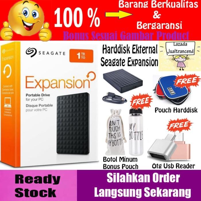 Seagate Expansion Harddisk Eksternal 1TB - GRATIS