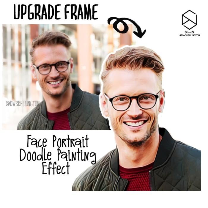 harga Upgrade tambahan wajah face portrait doodle painting bingkai dwsframe Tokopedia.com