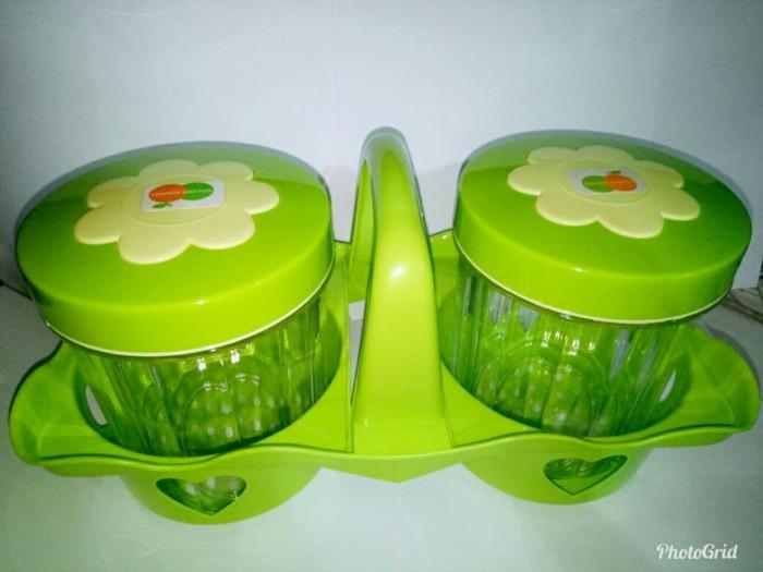 harga Toples kue golden sunkist isi 2 toples + keranjang/rak toples set 2pcs Tokopedia.com