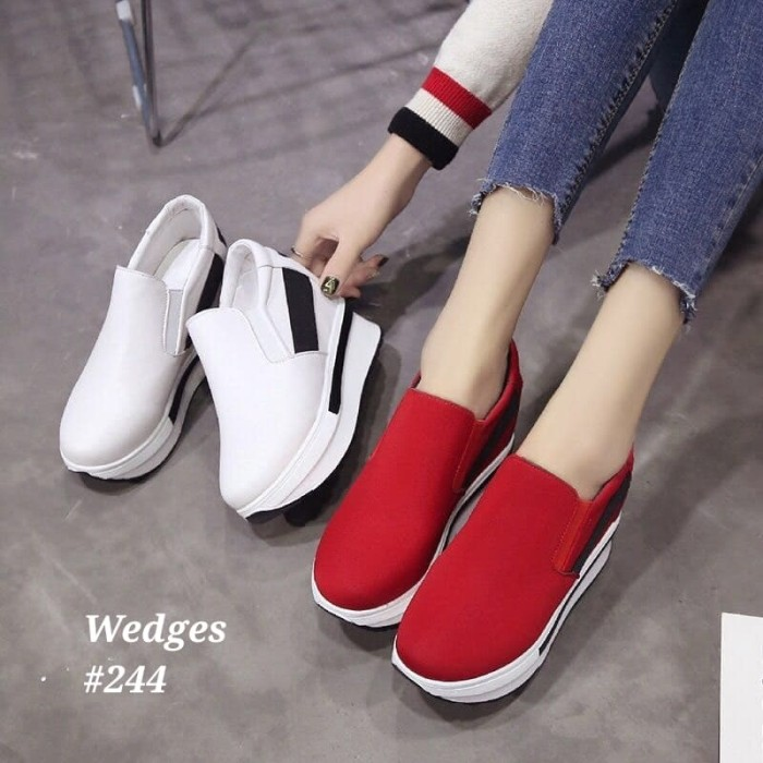 harga Sepatu wedges korea #244 Tokopedia.com