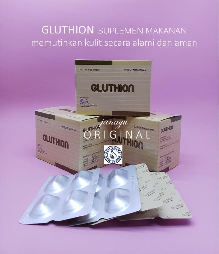 Jual Gluthion Suplemen Pemutih Kulit Alami Dan Aman Janayu Beauty