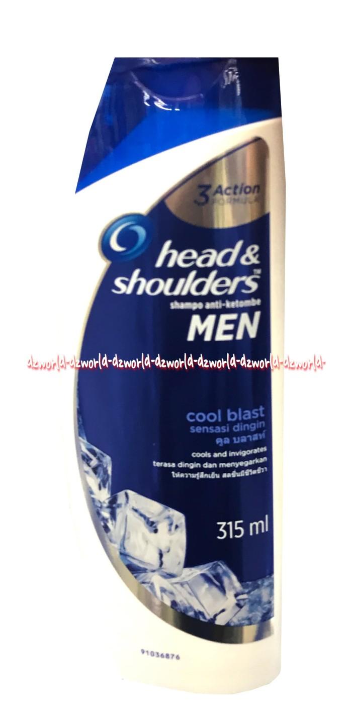 Head Shoulders Sampo Cool Blast 315 Ml Daftar Harga Terlengkap Menthol 480 Paket Isi 2 Men Shampoo Anti Ketombe Shampo 315ml