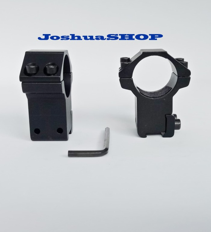 Foto Produk Mounting Scope GSR Double Baut tinggi / Dudukan Tele dari JoshuaShop