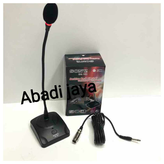 harga Mic meja conference sony sn 103 kabel Tokopedia.com