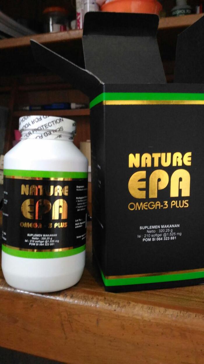 Jual NATURE EPA Omega 3 Plus Isi 210 Menjaga Kesehatan Jantung Anda Kota Medan Duojulu