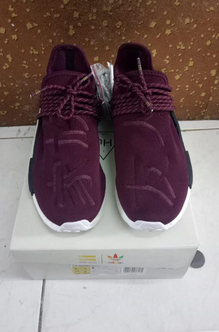 wholesale dealer 8f297 cc782 Jual Pharrell x NMD 'Human Race' Friends & Family UA Quality - DKI Jakarta  - Brosul07   Tokopedia