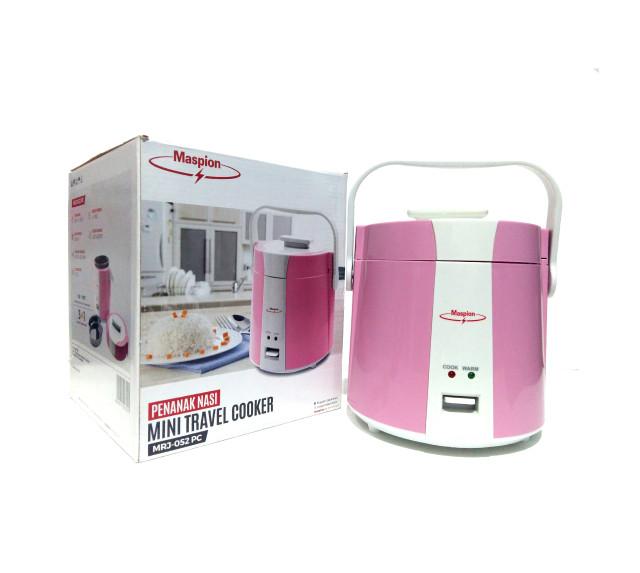 ... harga Travel cooker maspion mrj-052 / mini travel cooker / mini rice cooker Tokopedia