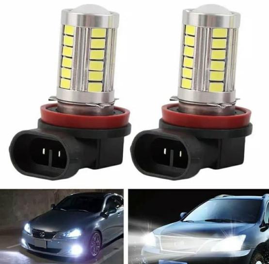 harga Led foglamp h 11 led h11 33 titik lensa projector putih Tokopedia.com