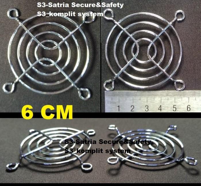 Foto Produk Guard pengaman FAN 6cm grill Jaring tutup Kipas extra FAN 6 cm ram dari S3-Satria Secure&Safety
