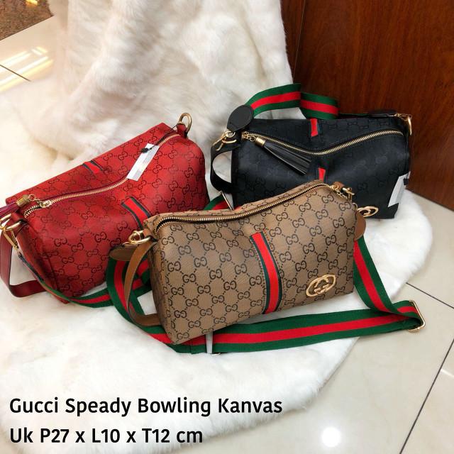 Jual TAS GUCCI BOWLING SPEEDY KANVAS - Value Bags  ff308cc9b0