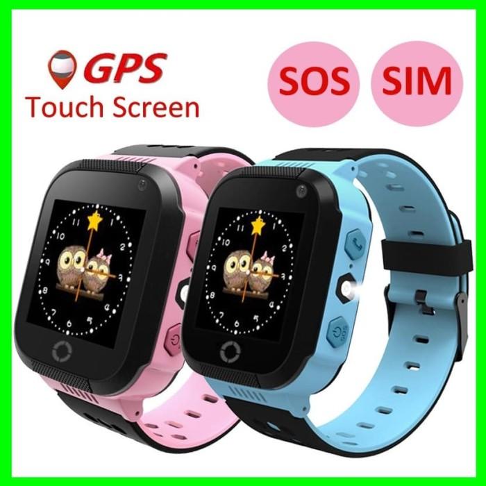 harga Jam tangan hp anak smart watch kids nelpon layar sentuh handphone gps Tokopedia.com