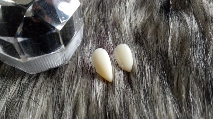 harga Custom fit vampire fangs / gigi taring palsu 13mm & 15mm Tokopedia.com