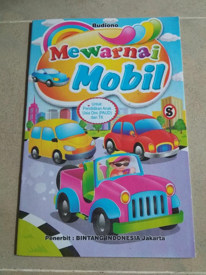 Jual Buku Mewarnai Mobil Intansalsa Shop Tokopedia