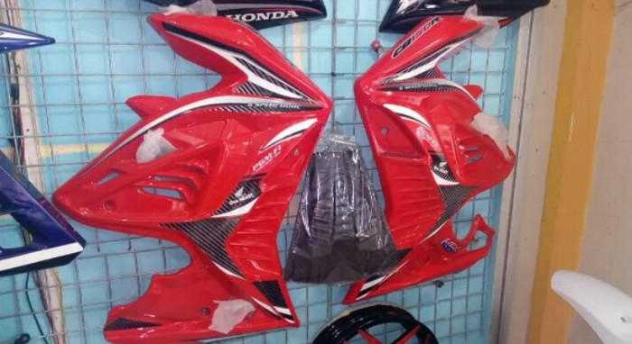 harga Sayap samping cb150r new half fairing cb150r all new Tokopedia.com