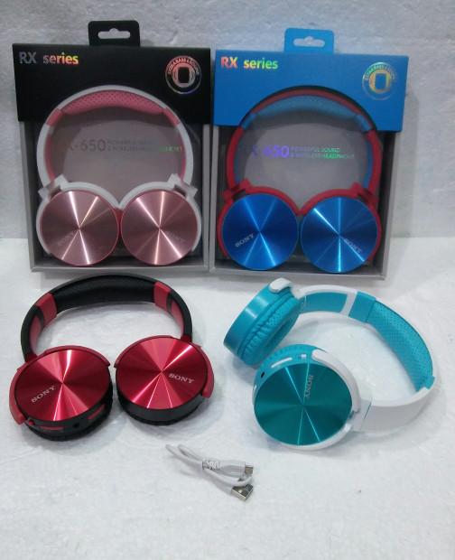 harga Headset bluetooth / wireless headphone set rx-650 Tokopedia.com