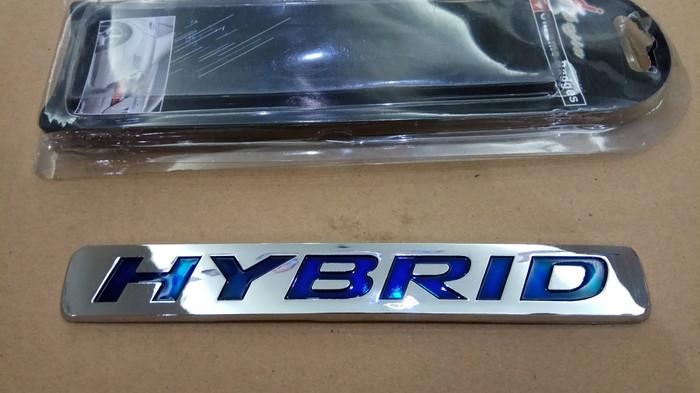 emblem tulisan Hybrid