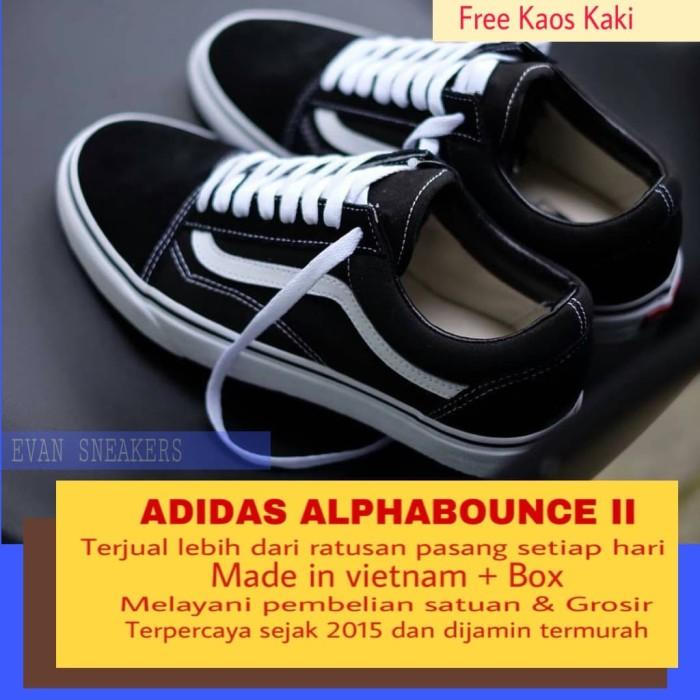 Jual SEPATU VANS OLD SKOOL BW IMPORT NEW - gyshel sneakers  c59b17b852