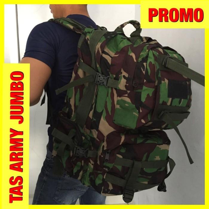Jual TAS RANSEL ARMY JUMBO TAS TENTARA TNI HIJAU LORENG TERBAGUS ... f12a4f5b3f