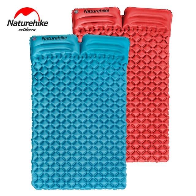 harga Sleeping pad double with pillows naturehike nh17q020-d - matras angin Tokopedia.com