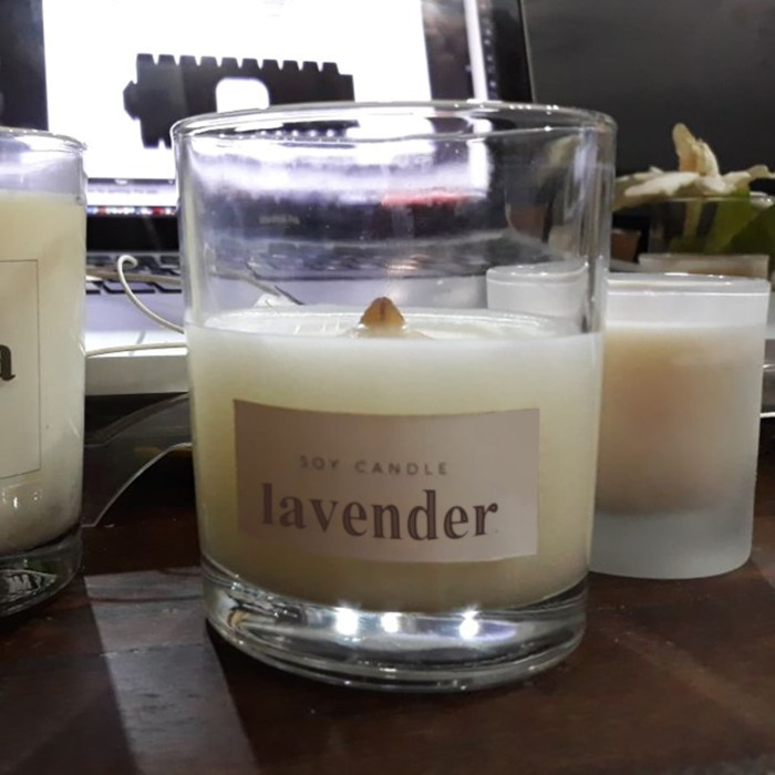 harga Soy wax candle - scented - private label - 120 gr - without packaging Tokopedia.com