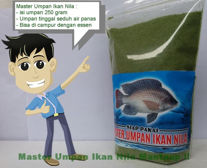 Foto Produk umpan aroma amis wangi untuk ikan nila | aroma lumut asli dari Master Essen Ikan