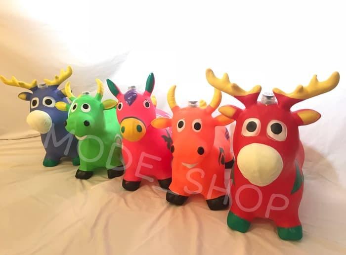 harga Mainan kuda kudaan / kuda jumping + music - animal jumping 1kg Tokopedia.com