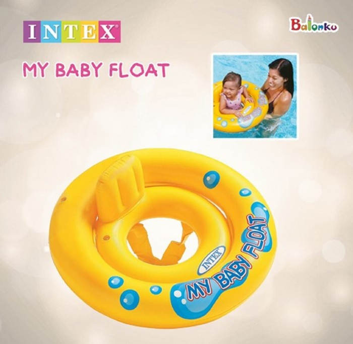 Intex 59574 my baby float - pelampung renang