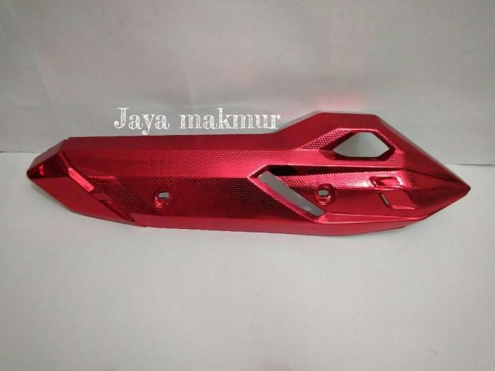 harga Aksesoris motor.. cover knalpot vario150&125 led new merah Tokopedia.com