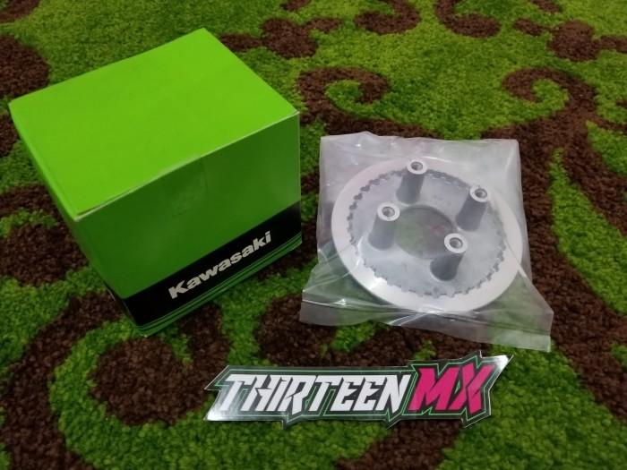 harga Tutup rumah kopling kaki 4 wheel clutch kawasaki klx dtracker 150 ori Tokopedia.com
