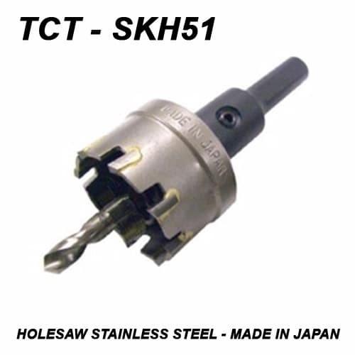 harga Holesaw 75 mm stainless - tct japan skh51 - made in japan Tokopedia.com